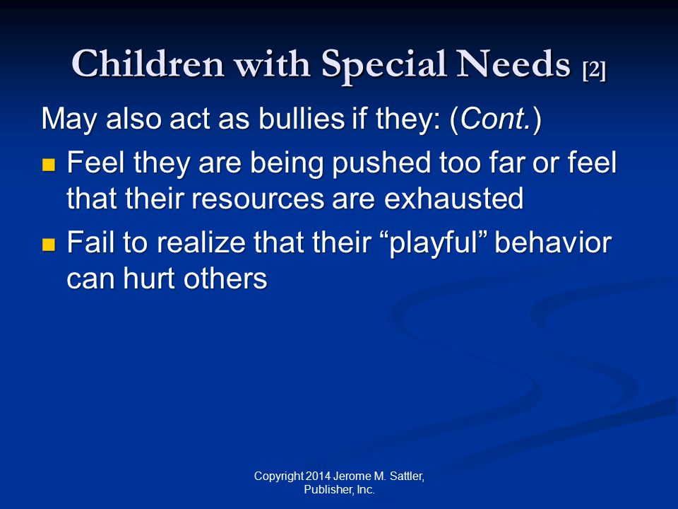 Children with Special Needs [2]